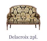 Un canapé de style Louis XVI – collection Taillardat