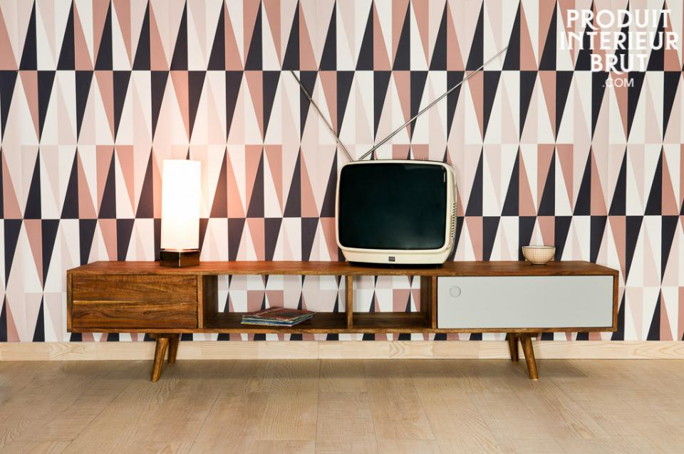 Superbe meuble tv esprit scandinave (modèle Stockholm) – P.I.B.